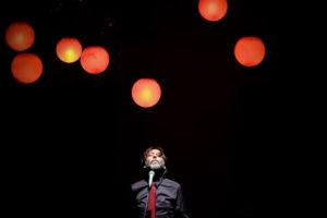 La luce nelle nuvole Salone delle scenografie del Teatro Grande